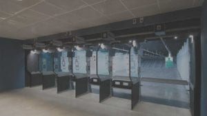 Indoor Range Shooting Stalls 25yds