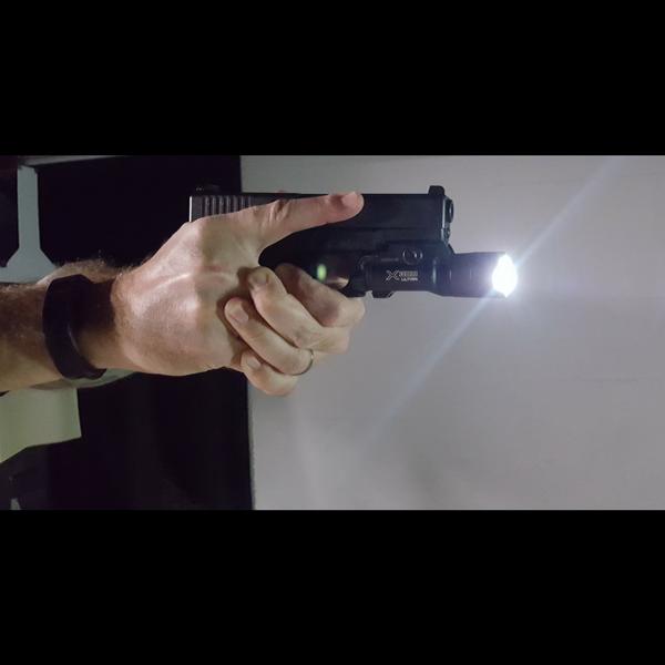 Low light firearm training