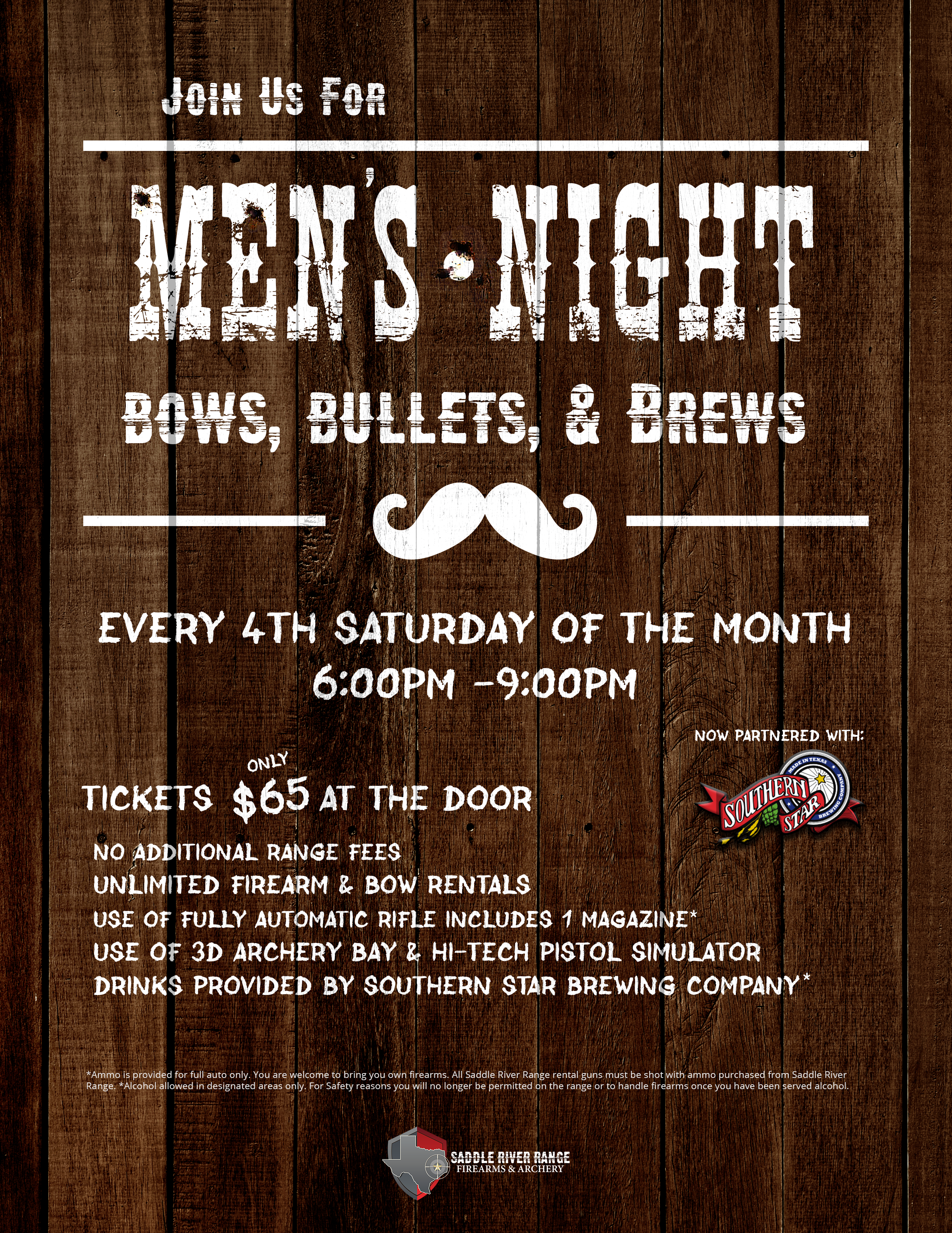 Mens Night – Bows, Bullets & Brews